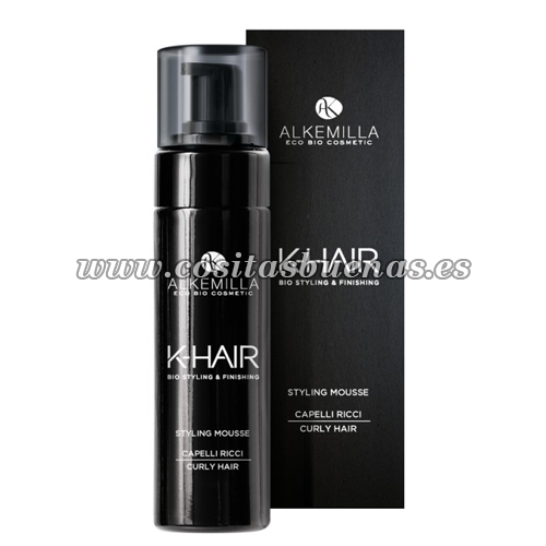 Styling mousse cabello rizado ALKEMILLA K-Hair